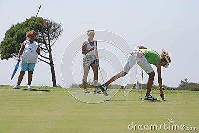 Fischer, Losone 2007, Golf Ladies european Editorial Stock Image