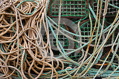 Fischerei der Fallen