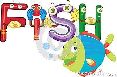 Fish alphabet