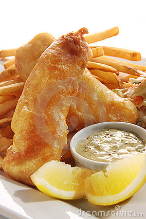 Free Fish And Chips Stock Photo - 13092970