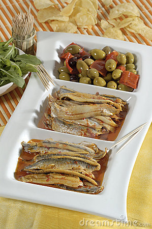 Free Fish Appetizer Stock Photography - 2280102