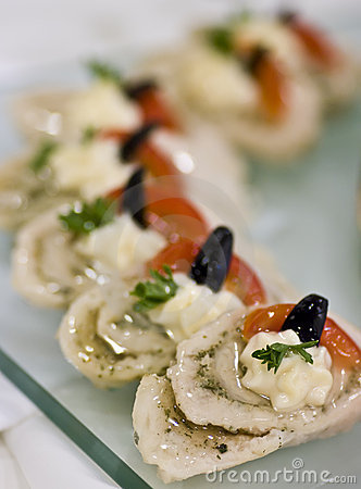 Fish appetizers
