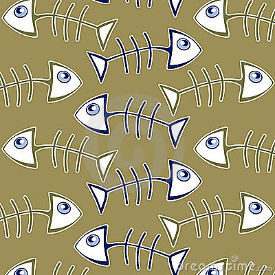 Fish bone pattern