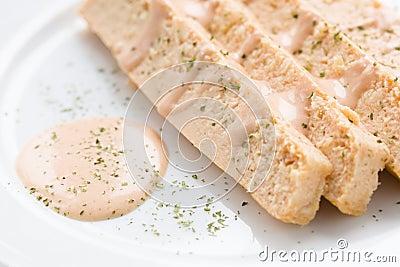 Fish cake food