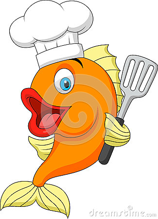 fish chef cartoon royalty free stock image image 31344836 Animated People Dancing Clip Art Animated People Dancing Clip Art