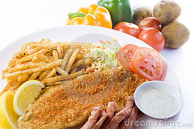 Fish And Chips Royalty Free Stock Photography - Image: 19956887
