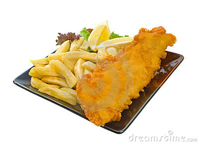Fish And Chips Royalty Free Stock Photos Image 8957248