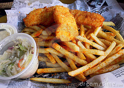 Fish & Chips Basket