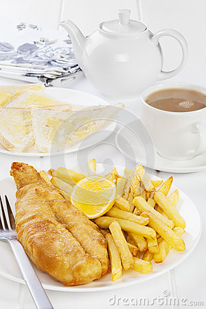 Fish and Chips Supper