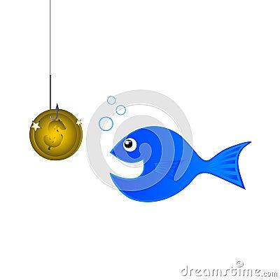 Fish coin