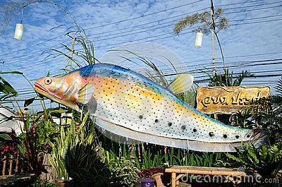 Fish Festival Editorial Stock Photo