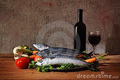 Fish for food and wine