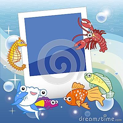 Fish frame