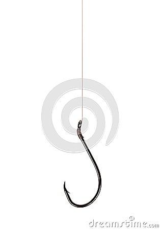 Free Fish Hook Royalty Free Stock Photos - 27421338