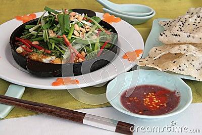 Fish hot plate