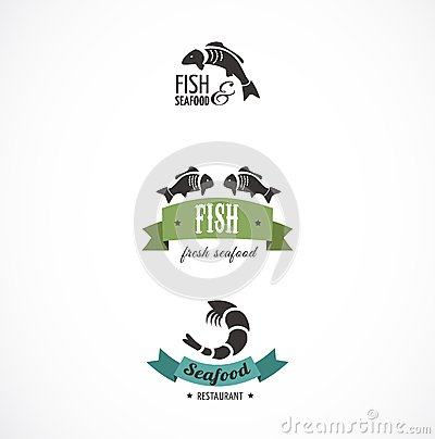 Fish icons and elements