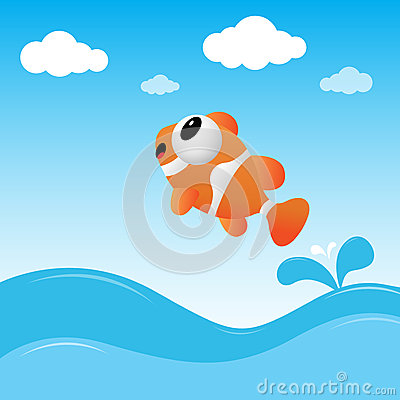 Fish jumping out of the water stock photo image 24765880 for Dream about fish out of water