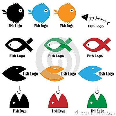 Free Fish Logos Stock Images - 17635734