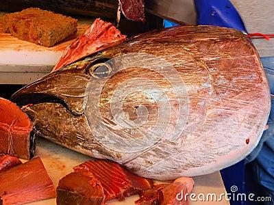 Fish Market In Catania Sicily Italy Stock Photo Image