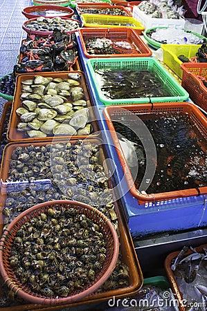 Fish market of Taiwan