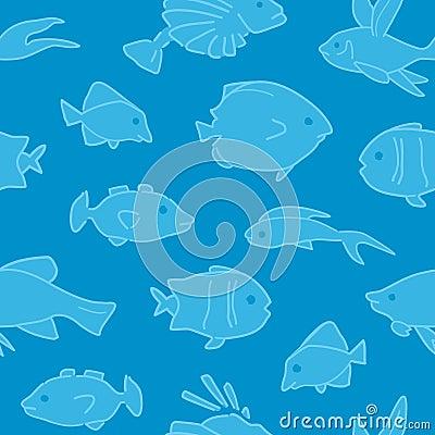 Fish Pattern Seamless