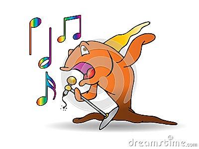 The fish performance