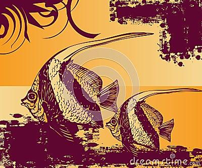 Fish pool Art