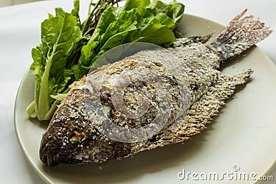 Fish with salt