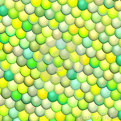 fish scale green abstract pattern
