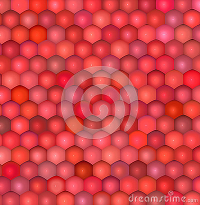 Fish scale red pink abstract pattern