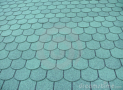 Fish scale roof pattern stock photos image 12240743 for Fish scale shingles