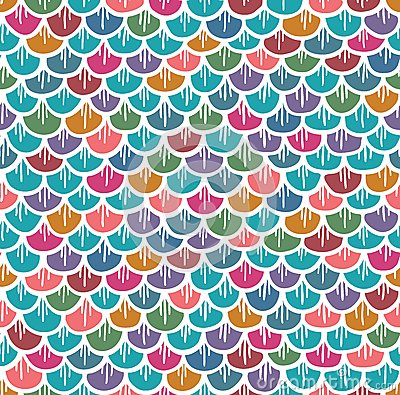 fish scales template fish scales seamless pattern