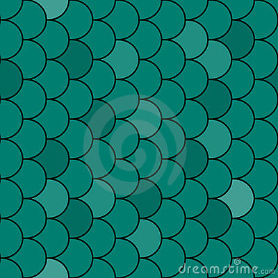 Free Fish Scales Texture Seamless - Vector Stock Image - 18526221