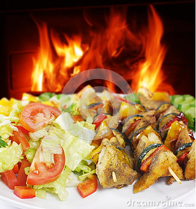 Fish shashlik