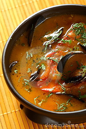 Free Fish Soup Royalty Free Stock Images - 1919239