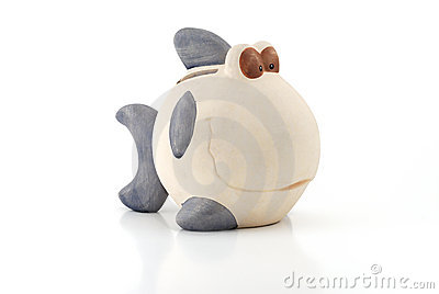 Fish Style Piggy Bank
