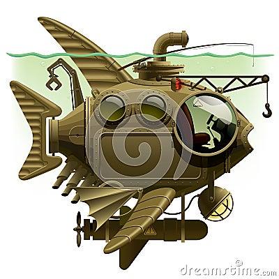 Free Fish Submarine Stock Photography - 37114232
