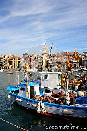 Free Fisherboats At Imperia, Italy Royalty Free Stock Photo - 6193125