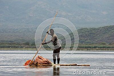 Fisherman Editorial Stock Image