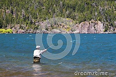 Fisherman Editorial Photo