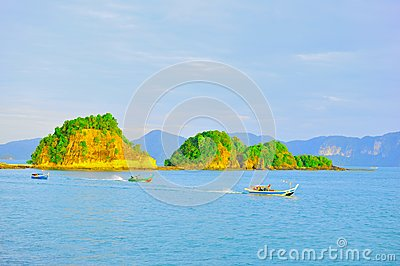 Fisherman in boats Editorial Stock Photo