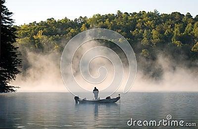 Fisherman in Fog 1