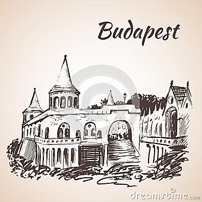 Free Fisherman S Bastion - Budapest, Hungary Stock Photo - 75517930