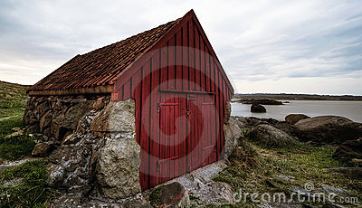 Fisherman's Shack 2 Royalty Free Stock Photos - Image: 14822488