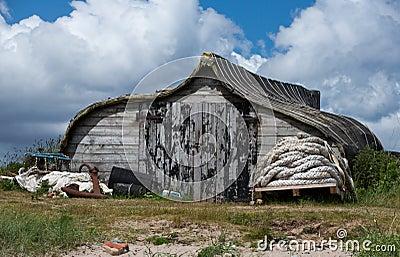 Fisherman shack