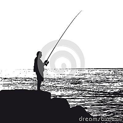 Fisherman (vector)