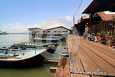 Fisherman Village Jetty, Penang, Malaysia