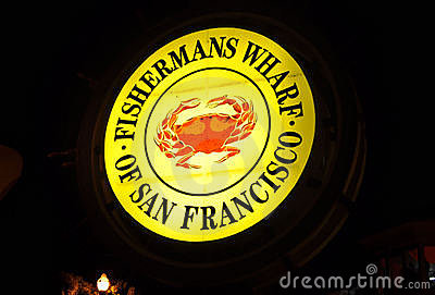 Fishermans Wharf San Francisco Editorial Photography