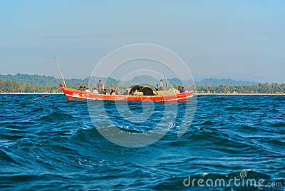 Fishermen Editorial Stock Image