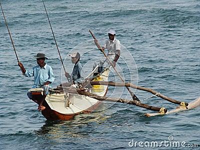 Fishermen Editorial Image